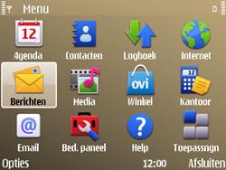 Nokia E72 - e-mail - handmatig instellen - stap 27