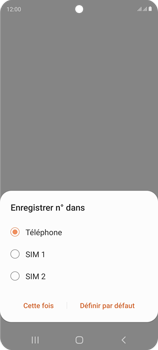 Samsung Galaxy S20 FE - Contact, Appels, SMS/MMS - Ajouter un contact - Étape 6