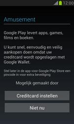 Samsung I8190 Galaxy S III Mini - Applicaties - Account aanmaken - Stap 12