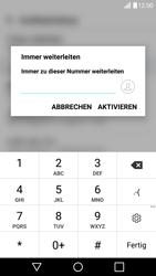 LG G5 SE (H840) - Android Nougat - Anrufe - Rufumleitungen setzen und löschen - Schritt 8