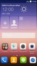 Huawei Y625 - Messagerie vocale - configuration manuelle - Étape 3