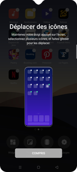 Oppo Find X2 Lite - Applications - Personnaliser l