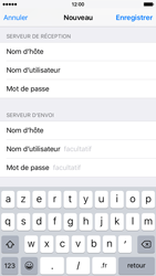 Apple iPhone 6 iOS 9 - E-mail - configuration manuelle - Étape 17