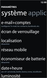 Nokia Lumia 900 - Internet - Configuration manuelle - Étape 4