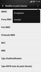 HTC Desire 601 - MMS - Configuration manuelle - Étape 15