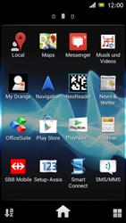 Sony Xperia J - Apps - Einrichten des App Stores - Schritt 3