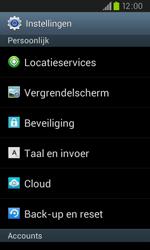 Samsung I9105P Galaxy S II Plus - toestel resetten - fabrieksinstellingen terugzetten - stap 4