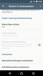 Sony Xperia X - Fehlerbehebung - Handy zurücksetzen - 0 / 0