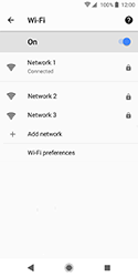 Sony Xperia XZ2 Compact - Wi-Fi - Connect to Wi-Fi network - Step 9
