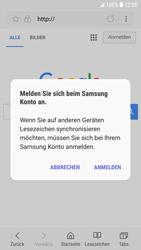 Samsung Galaxy S6 - Android Nougat - Internet und Datenroaming - Verwenden des Internets - Schritt 8