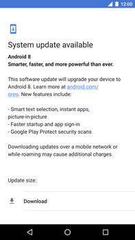 Huawei Nexus 6P - Android Oreo - Device - Software update - Step 7