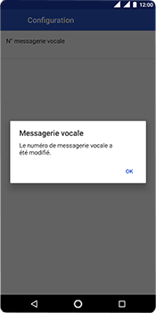 Nokia 5.1 - Messagerie vocale - Configuration manuelle - Étape 12