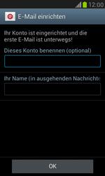 Samsung I8190 Galaxy S3 Mini - E-Mail - Konto einrichten - Schritt 16