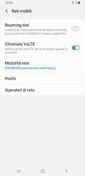Samsung Galaxy Note9 - Android Pie - Rete - Come attivare la connessione di rete 4G - Fase 8