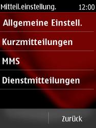 Nokia Asha 300 - SMS - Manuelle Konfiguration - 5 / 9