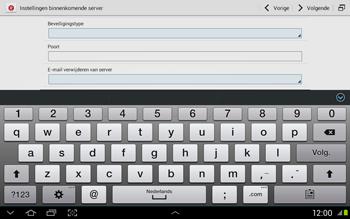 Samsung N8020 Galaxy Note 10-1 LTE - E-mail - Handmatig instellen - Stap 10