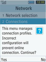 Samsung C3350 Xcover 2 - Internet - Manual configuration - Step 6