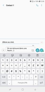 Samsung Galaxy J4+ - Contact, Appels, SMS/MMS - Envoyer un MMS - Étape 13