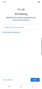 Samsung Galaxy Note 10 Plus 5G - Apps - Einrichten des App Stores - Schritt 5