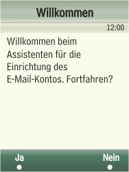 Samsung F480-TouchWiz - E-Mail - Konto einrichten - Schritt 7