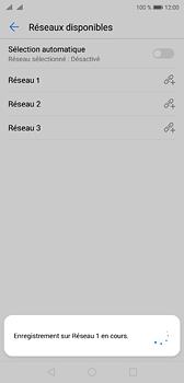 Huawei P20 - Réseau - Sélection manuelle du réseau - Étape 10