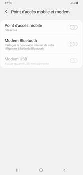 Samsung Galaxy A10 - Internet et connexion - Utiliser le mode modem par USB - Étape 6