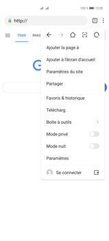 Huawei P40 Pro - Internet et connexion - Naviguer sur internet - Étape 10