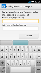 Alcatel One Touch Idol Mini - E-mail - configuration manuelle - Étape 20