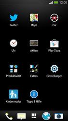 HTC One - Internet und Datenroaming - Prüfen, ob Datenkonnektivität aktiviert ist - Schritt 3