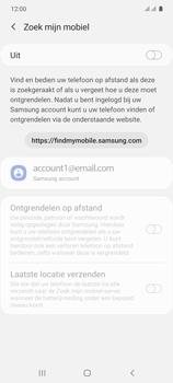Samsung galaxy-s10-lite-dual-sim-sm-g770f - Beveiliging en ouderlijk toezicht - Zoek mijn mobiel inschakelen - Stap 6