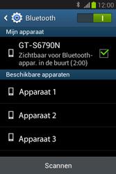 Samsung S6790 Galaxy Fame Lite - bluetooth - aanzetten - stap 7