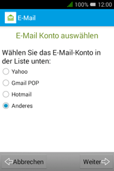 Alcatel OT-4009D Pixi 3 (3.5) - E-Mail - Konto einrichten - Schritt 8