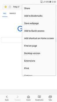 Samsung Galaxy J7 (2017) - Internet - Internet browsing - Step 20