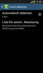 Samsung Galaxy Ace 3 - Anrufe - Anrufe blockieren - 7 / 14