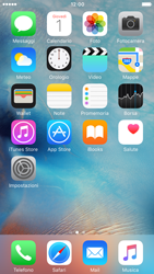 Apple iPhone 6 iOS 9 - Risoluzione del problema - E-mail e messaggistica - Fase 1