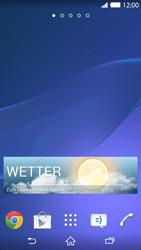 Sony Xperia Z2 - Startanleitung - Installieren von Widgets und Apps auf der Startseite - Schritt 8