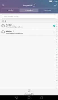 Huawei MediaPad T1 (7.0) - E-Mail - E-Mail versenden - 0 / 0