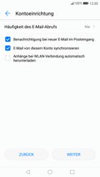 Huawei P10 - E-Mail - Konto einrichten (yahoo) - Schritt 9