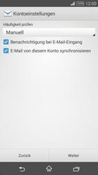Sony D5103 Xperia T3 - E-Mail - Konto einrichten - Schritt 16