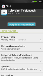 HTC One - Apps - Installieren von Apps - Schritt 8