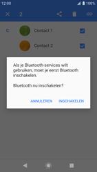 Sony xperia-xz-premium-g8141-android-pie - Contacten en data - Contacten overzetten via Bluetooth - Stap 8