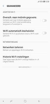 Samsung Galaxy J6 Plus - wifi - schakel Wi-Fi Assistentie uit - stap 11