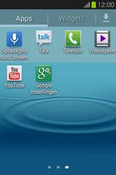Samsung S6810P Galaxy Fame - Voicemail - handmatig instellen - Stap 4
