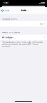 Apple iPhone X - iOS 14 - E-Mail - Manuelle Konfiguration - Schritt 21