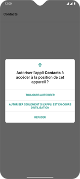OnePlus 7T - Contact, Appels, SMS/MMS - Ajouter un contact - Étape 5