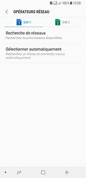 Samsung Galaxy A8 (2018) - Réseau - Sélection manuelle du réseau - Étape 7
