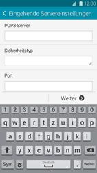 Samsung G800F Galaxy S5 Mini - E-Mail - Konto einrichten - Schritt 9