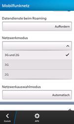 BlackBerry Z10 - Netzwerk - Netzwerkeinstellungen ändern - Schritt 7