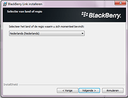 BlackBerry Z30 - software - pc suite installeren - stap 4