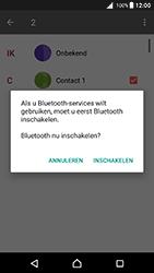 Sony F5121 Xperia X - Android Nougat - Contactgegevens overzetten - delen via Bluetooth - Stap 10